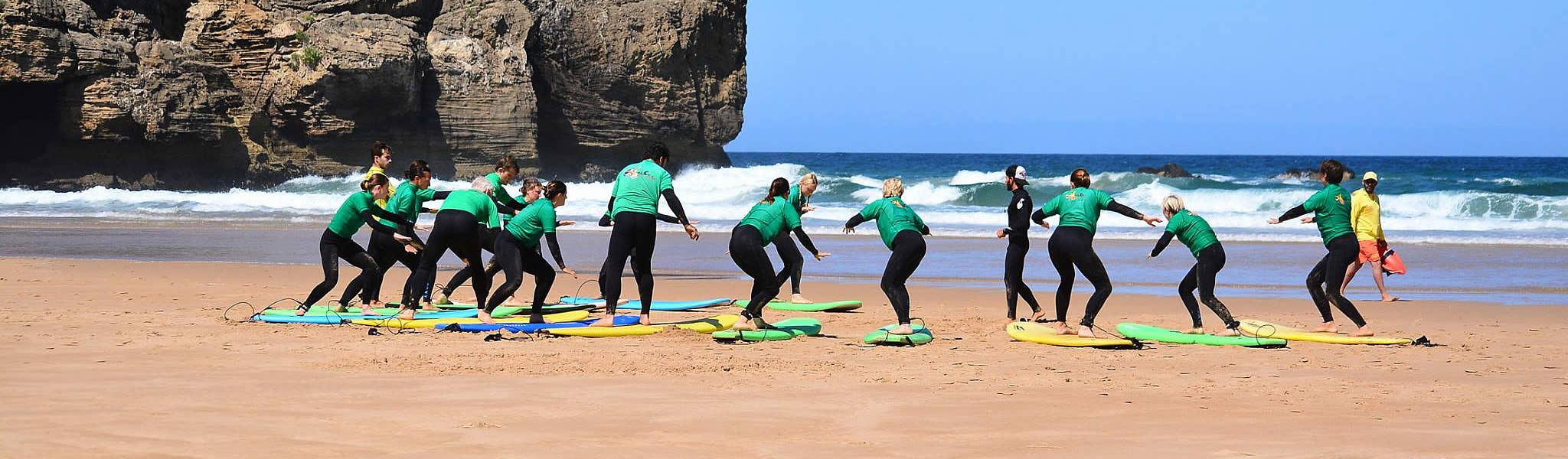 Odeceixe Surf Camp   Algarve Portugal